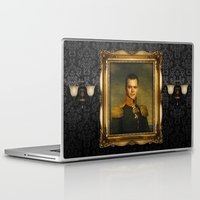 replaceface Laptop & iPad Skins featuring Matt Damon - replaceface by replaceface
