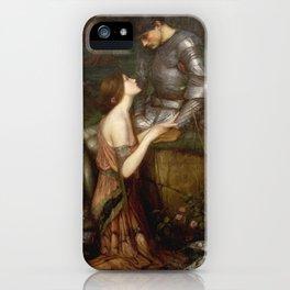 John William Waterhouse - Lamia iPhone Case