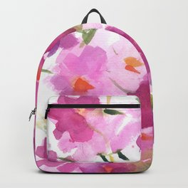 Pink Cosmos Bouquet Backpack