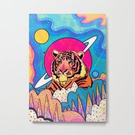 The space tiger Metal Print