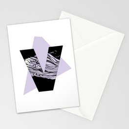 The letter V Stationery Cards
