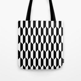 Black Quadrilateral - Baby Stimulation Pattern Tote Bag