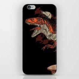Dino Skate iPhone Skin