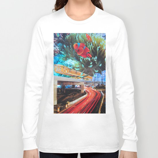 Water carries us from here Long Sleeve T-shirt