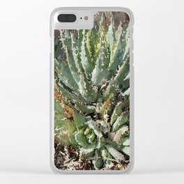 Don't Touch Me! Clear iPhone Case