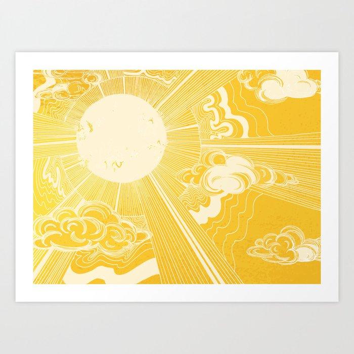 Solar Flare Kunstdrucke