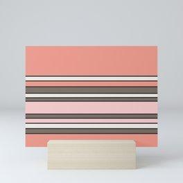 The Pink Stripes Mini Art Print