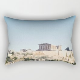 Visit The Acropolis Rectangular Pillow