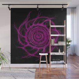 The Magenta Portal Wall Mural
