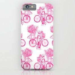 Bicycle Flower Seller in Hanoi iPhone Case