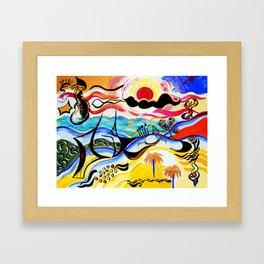 Puerto Rico Framed Art Print