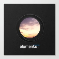 elements | clouds Canvas Print