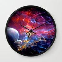 medusa Wall Clocks featuring Medusa by Art-Motiva