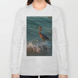 Reddish At Sunset Long Sleeve T-shirt