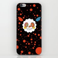 madoka magica iPhone & iPod Skins featuring Charlotte - Madoka Magica by gallery pieces