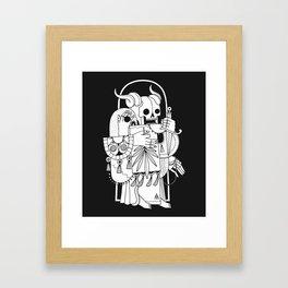 Death's Journey Framed Art Print