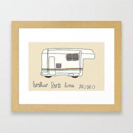 Trailer Park Love 2 Framed Art Print