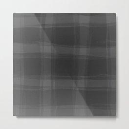 Nifty Shades of Grey Metal Print