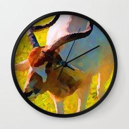 Antelope Gemsbok Wall Clock