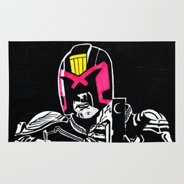 Marked for justice Rug