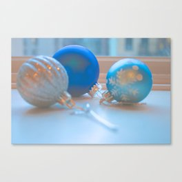 Shimmering Ornaments Canvas Print