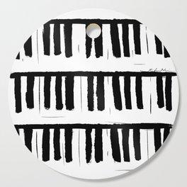 Piano Cutting Board