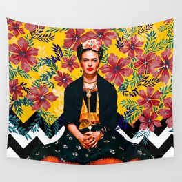 Frida Tropical Wall Tapestry