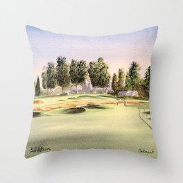Oakmont Golf Course Throw Pillow