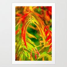 Taken In Art Print