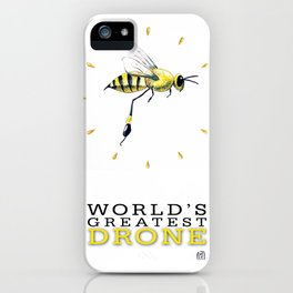 World's Greatest Drone iPhone Case