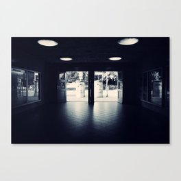 Abandoned Train Station, Berlin Canvas Print