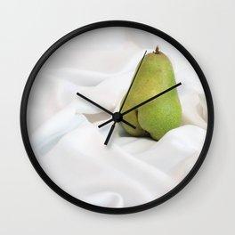 Tasteful Porn: Pear #1 Wall Clock
