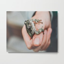 Great Catch Metal Print