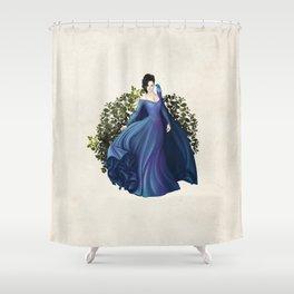 Enchanting Blue Shower Curtain