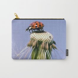 Dandelion Ladybugs Carry-All Pouch