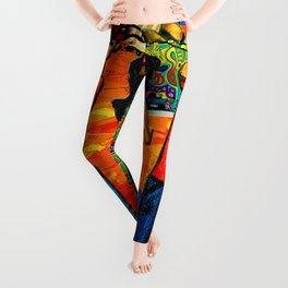 Lady & Giraffe Band Leggings
