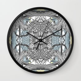 OLD JUNIPER BLACK AND WHITE VINTAGE Wall Clock