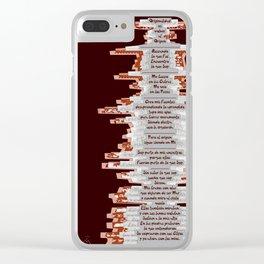 Totem 1 / Origen Clear iPhone Case