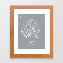 Jay Peak Framed Art Print