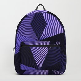 Origami in purple Backpack