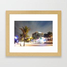 Las Olas Beach  Framed Art Print