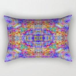 Spectral Threads Rectangular Pillow