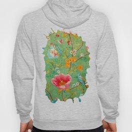 Grunge Floral Pattern 07 Hoody