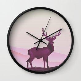 Prince Albert National Park central Saskatchewan, Canada Wall Clock