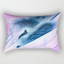 'Pink Champagne' Rectangular Pillow