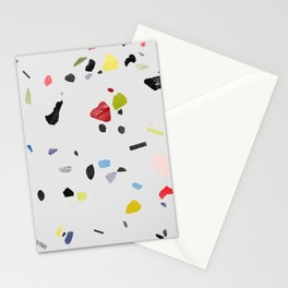 painted terrazzo 1 Stationery Cards