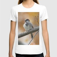 sparrow T-shirts featuring Sparrow by Tammi Hofstetter