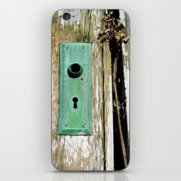 Through the Keyhole iPhone Skin