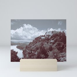 Ha Ha Tonka in Selenium and Gray Mini Art Print