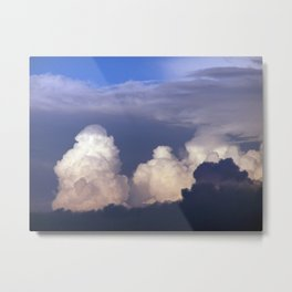 Cloud towers in the Sky -  cumulonimbus Metal Print